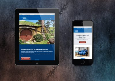 Scottish Removals Website Development